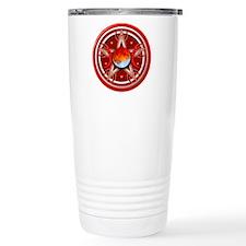 Red Triple Goddess Pentacle Travel Mug