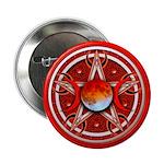 Red Triple Goddess Pentacle 2.25