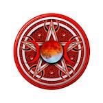 Red Triple Goddess Pentacle 3.5