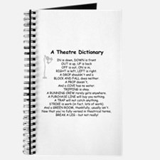 A Theatre Dictionary Journal