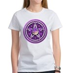 Purple Triple Goddess Pentacle Women's T-Shirt