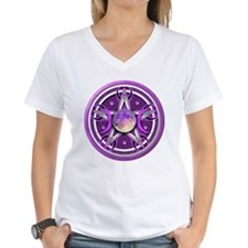 Purple Triple Goddess Pentacle Shirt