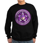 Purple Triple Goddess Pentacle Sweatshirt (dark)