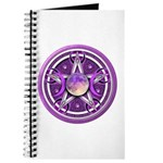Purple Triple Goddess Pentacle Journal