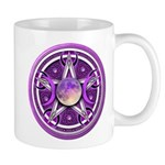 Purple Triple Goddess Pentacle Mug