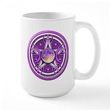 Purple Triple Goddess Pentacle Mug
