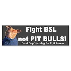 Fight BSL Bumper Bumper Sticker