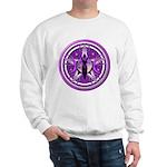 Pentacle of the Purple Goddess Sweatshirt