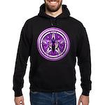 Pentacle of the Purple Goddess Hoodie (dark)