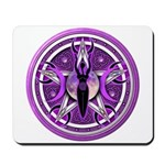 Pentacle of the Purple Goddess Mousepad
