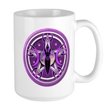 Pentacle of the Purple Goddess Mug