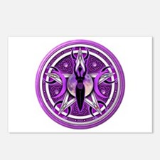 Pentacle of the Purple Goddess Postcards (Package