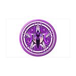 Pentacle of the Purple Goddess 38.5 x 24.5 Wall Pe