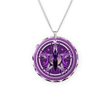 Pentacle of the Purple Goddess Necklace
