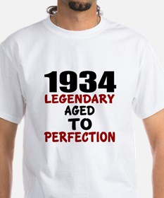 1934 Legendary Aged To Perfection Shirt