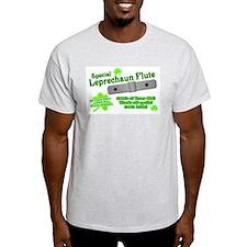 Special Leprechaun Flute Ash Grey T-Shirt