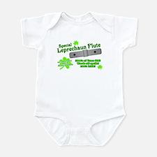 Special Leprechaun Flute Infant Creeper