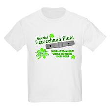 Special Leprechaun Flute Kids T-Shirt