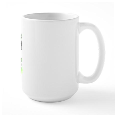 Special Leprechaun Flute Large Mug