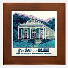 I've Got the Blues, NOLA Framed Tile
