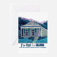 I've Got the Blues, NOLA Greeting Cards (Pk of 10)