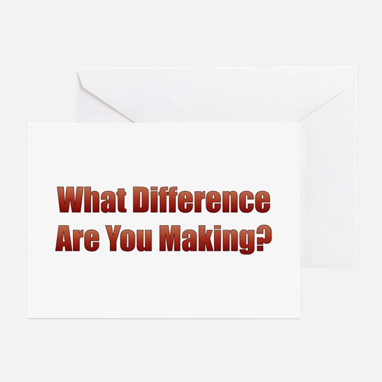 What Difference Greeting Cards (Pk of 10)