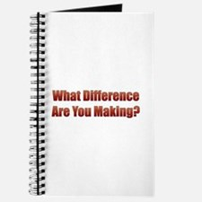 What Difference Journal