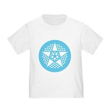 toddler T-shirt with crop circle
