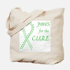 Lime Paws Cure Tote Bag