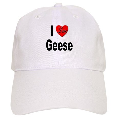 I Love Geese Cap