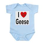 I Love Geese Infant Creeper