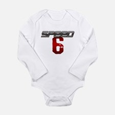 SPEED 6 Long Sleeve Infant Bodysuit