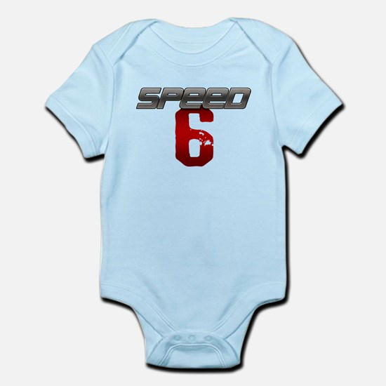 SPEED 6 Infant Bodysuit