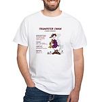 White T-Shirt/Trumpeter Swan