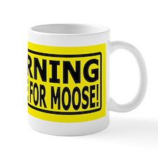 Cute Alaska moose Mug
