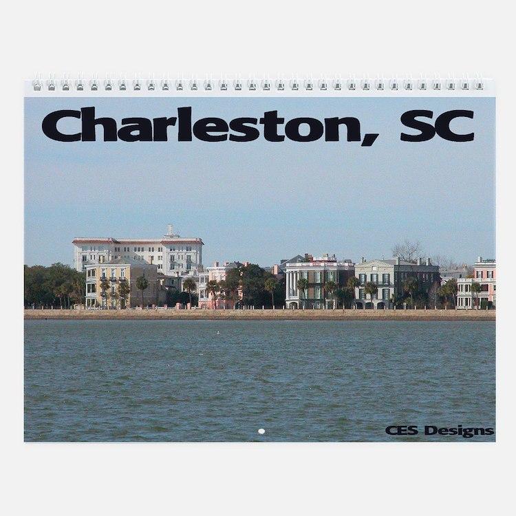 Charleston Wall Calendar