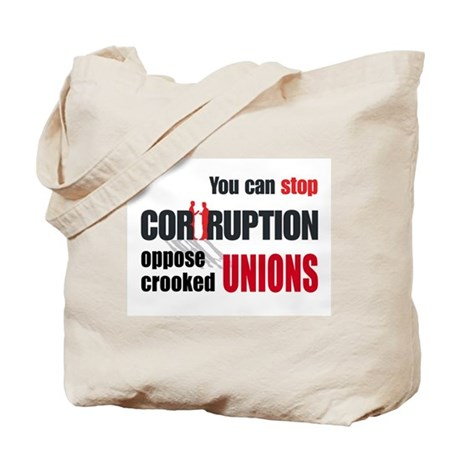 SUPPORT RIGHT TO WORK Tote Bag