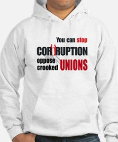 SUPPORT RIGHT TO WORK Hoodie