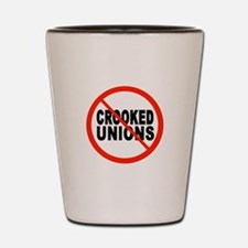 SUPPORT RIGHT TO WORK Shot Glass