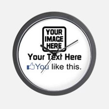 Facebook (You Like This) Wall Clock