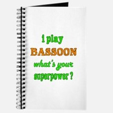 I play Bassoon what's your superpower ? Journal