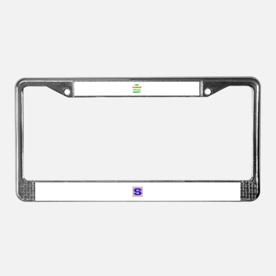 I play Bassoon what's your sup License Plate Frame