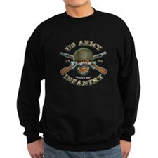 US Army Infantry Skull Jumper Sweater