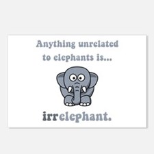 Irrelephant Postcards (Package of 8)