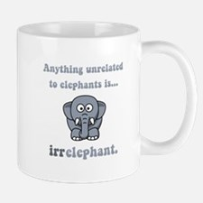 Irrelephant Small Small Mug