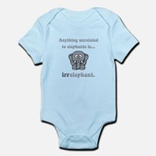 Irrelephant Infant Bodysuit
