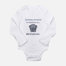 Irrelephant Onesie Romper Suit