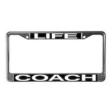 Life Coach License Plate Frame