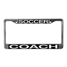Soccer Coach License Plate Frame