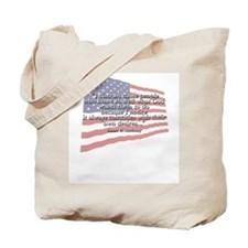 Susan B. Anthony: God And Desires Quote Tote Bag